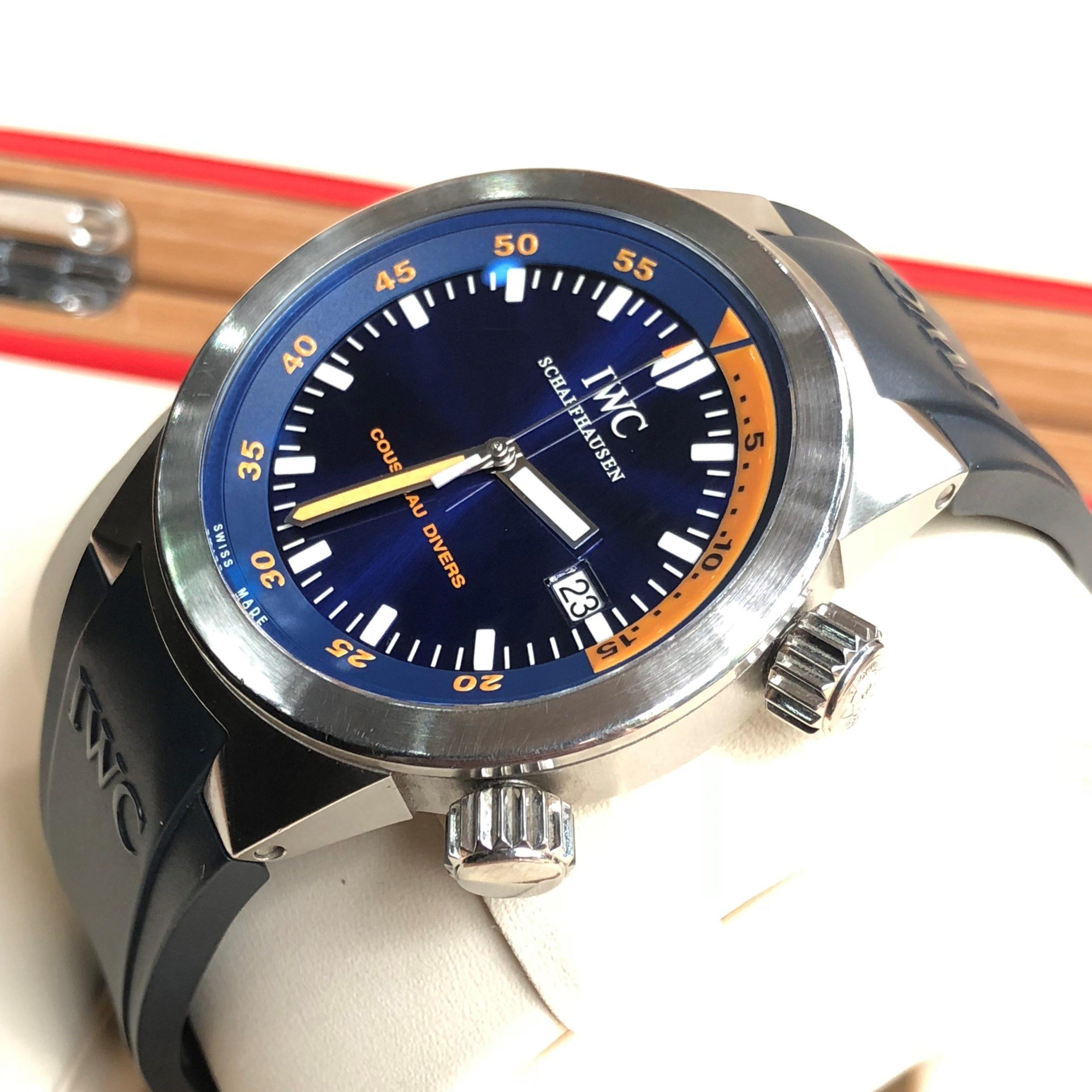 IWC Aquatimer Cousteau Divers Automatic Limited Edition 568/1953