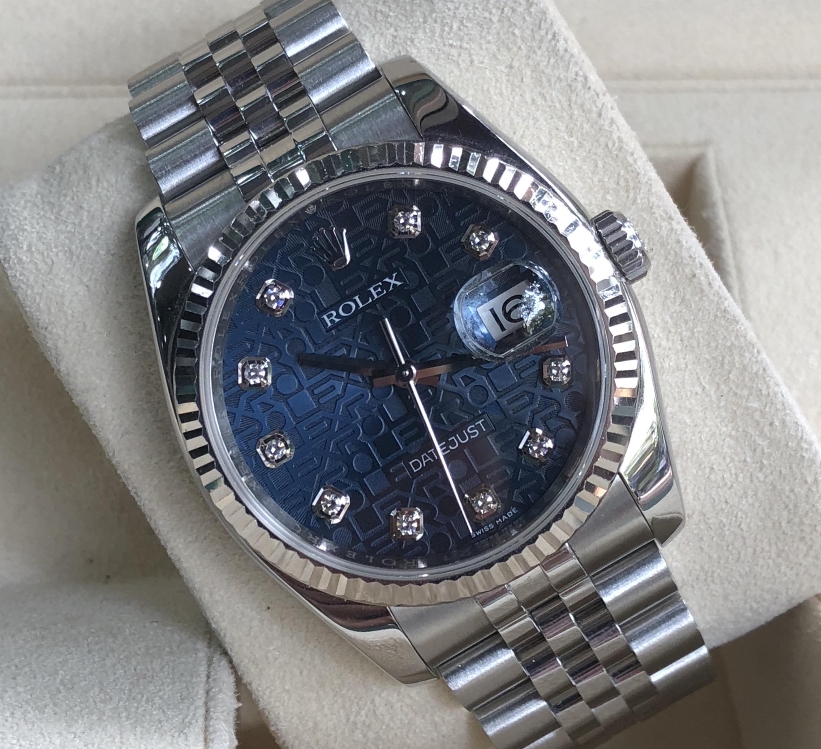 Rolex 116234 mặt vi tính xanh Navy Serial loạn đời 2017/2018