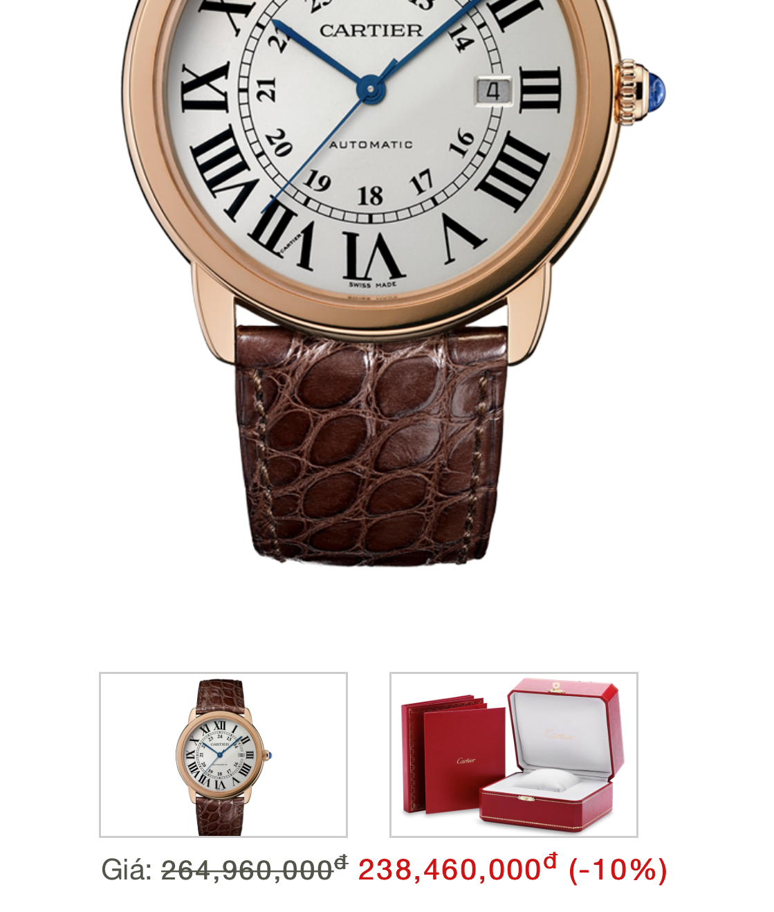 Cartier Ronde Solo W6701009