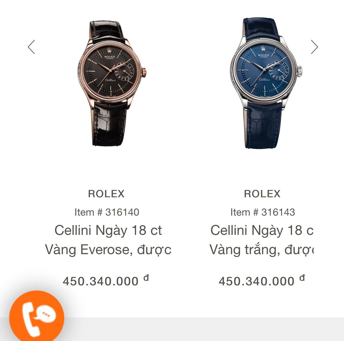 Rolex Cellini Date 50515-0010 vàng hồng 18k Fullbox 2015