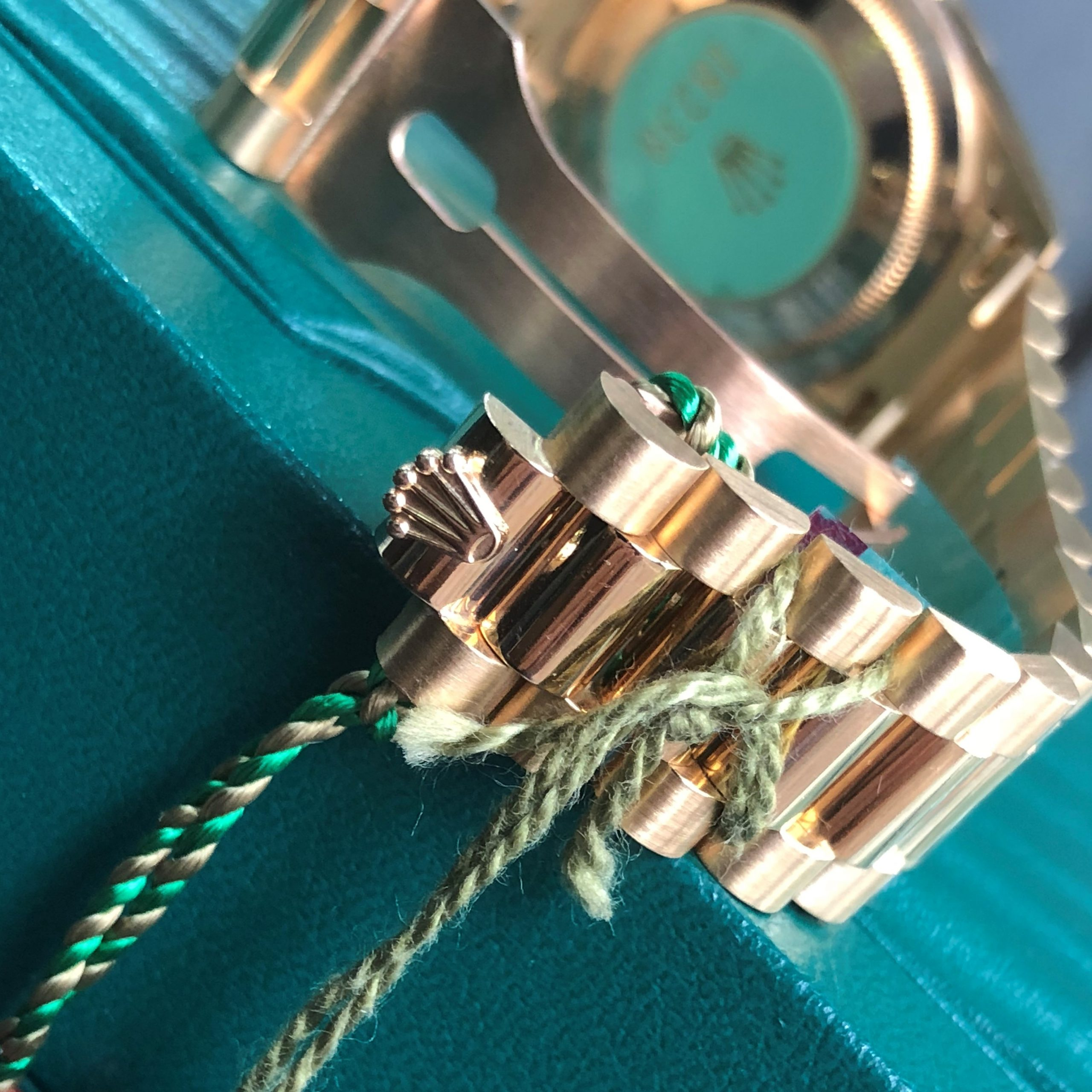 Rolex 18238 mặt vi tính cọc kim cương vàng khối 18k Fullbox