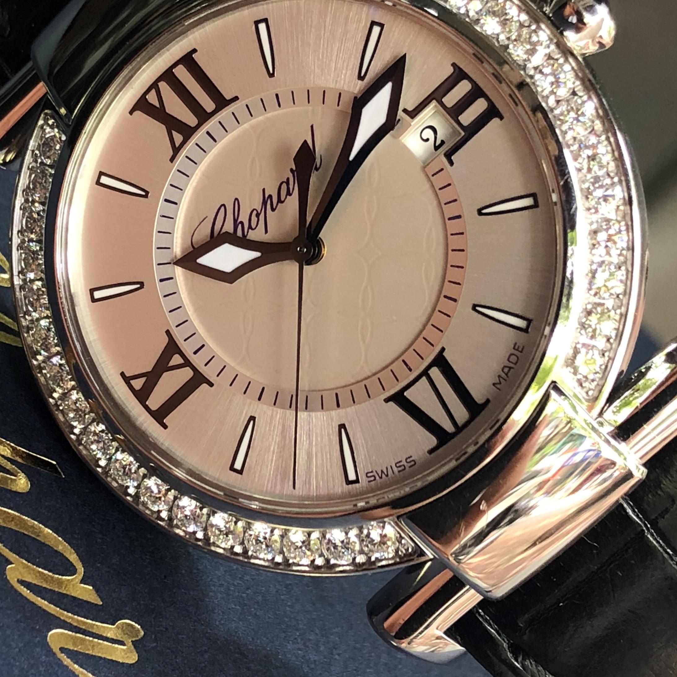 Chopard Diamond 8532 niềng kim cương zin Fullbox