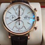 Dong-ho-iwc-portofino-chronograph-mat-trang-vang-hong-18k-size-42mm