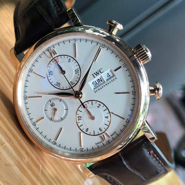 Dong-ho-iwc-portofino-chronograph-mat-trang-vang-hong-18k-size-42mm-5