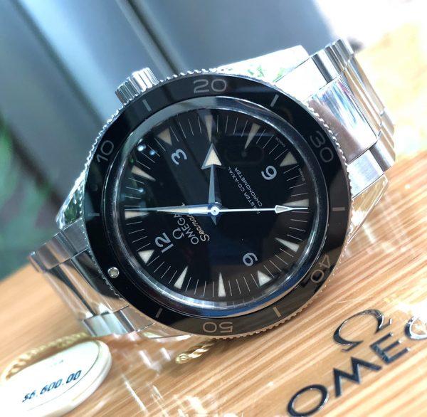 Omega Seamaster 300 Automatic Black Dial