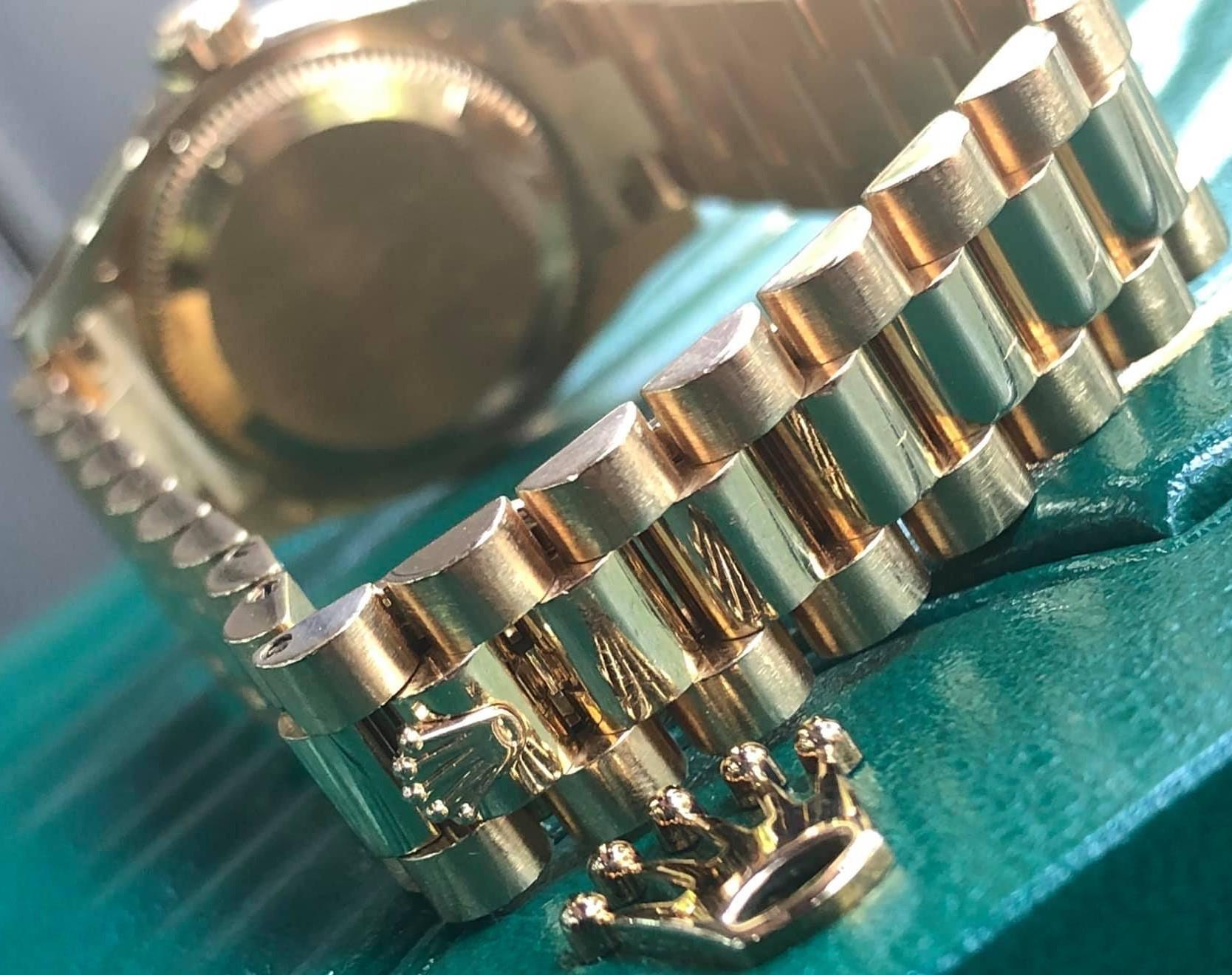 Rolex 179158 kim cương zin vàng khối 18k size 26mm đời 2008