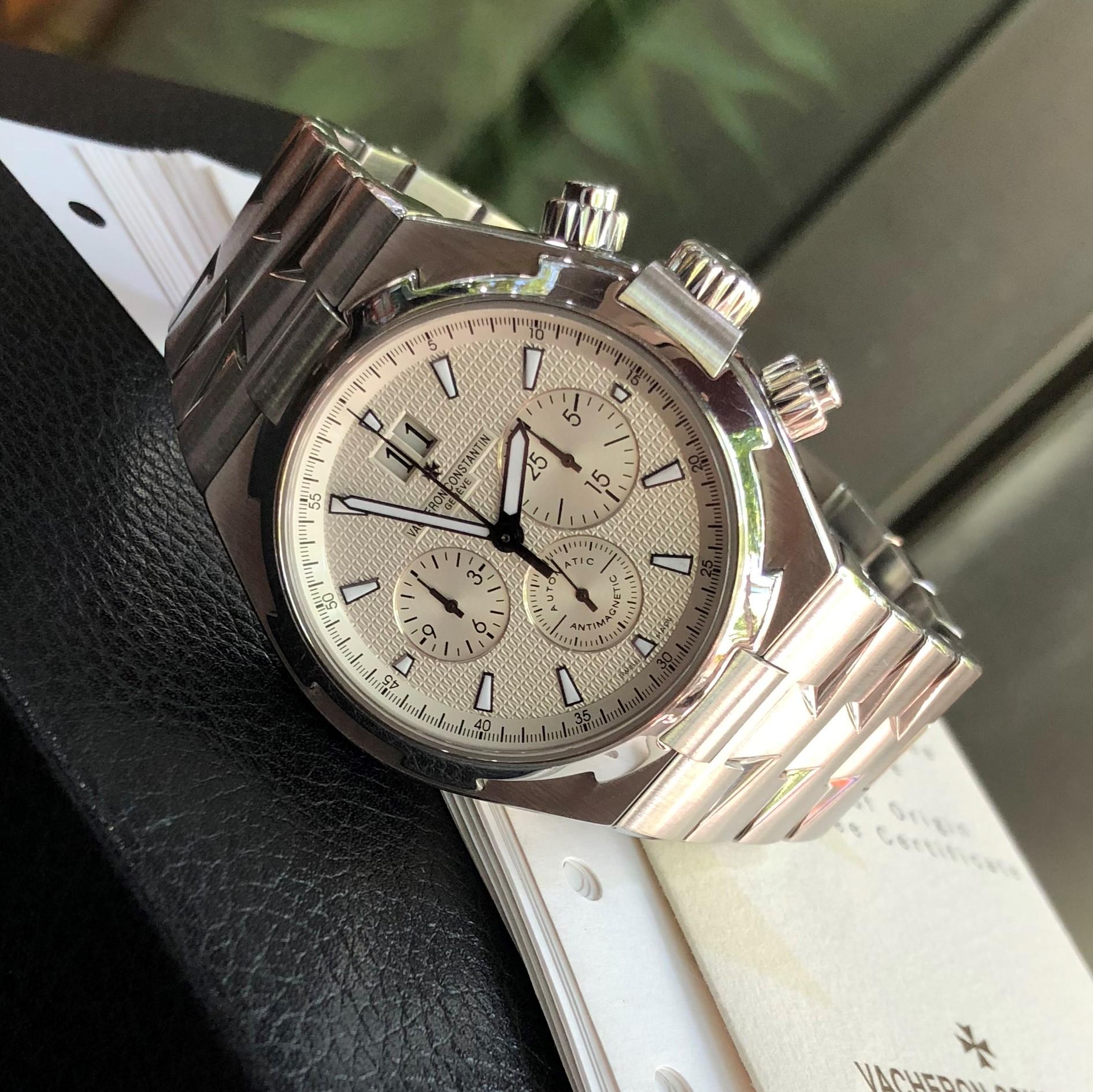 Vacheron Constantin Overseas Chronograph 49150/B01A-9097