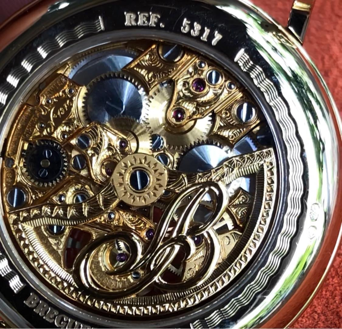 Đồng hồ Breguet Five Days 5317 Tourbillon