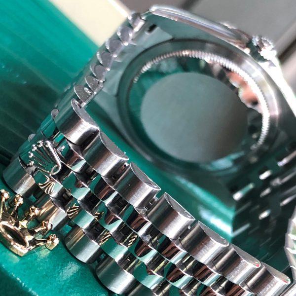 Rolex Datejust 116244 Mặt tia Niềng kim cương Size 36mm