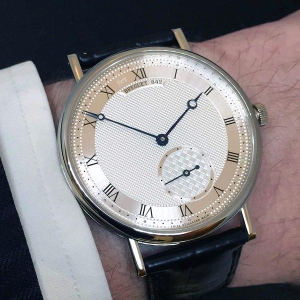 Breguet Classique 5140 5140BB/12/9W6 vàng trắng 18k Size 40mm
