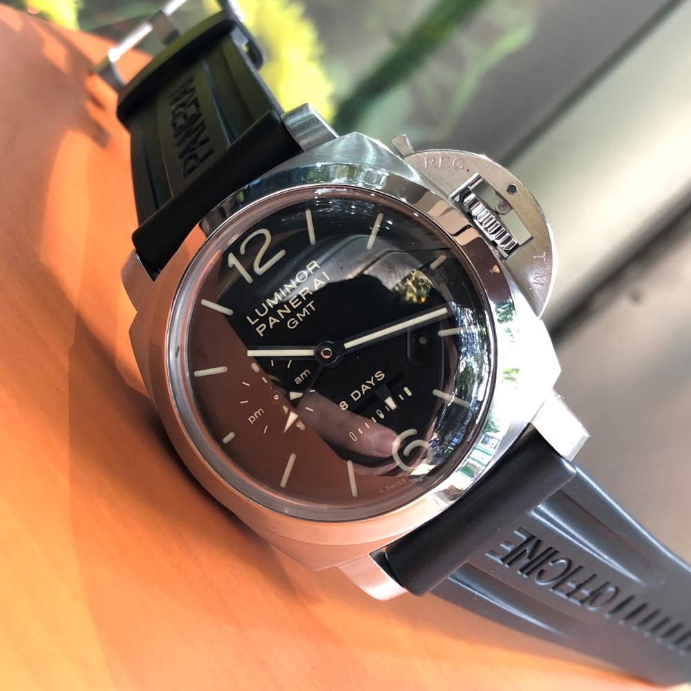 Đồng hồ Panerai PAM 233 Luminor 8 Days GMT Size 44mm