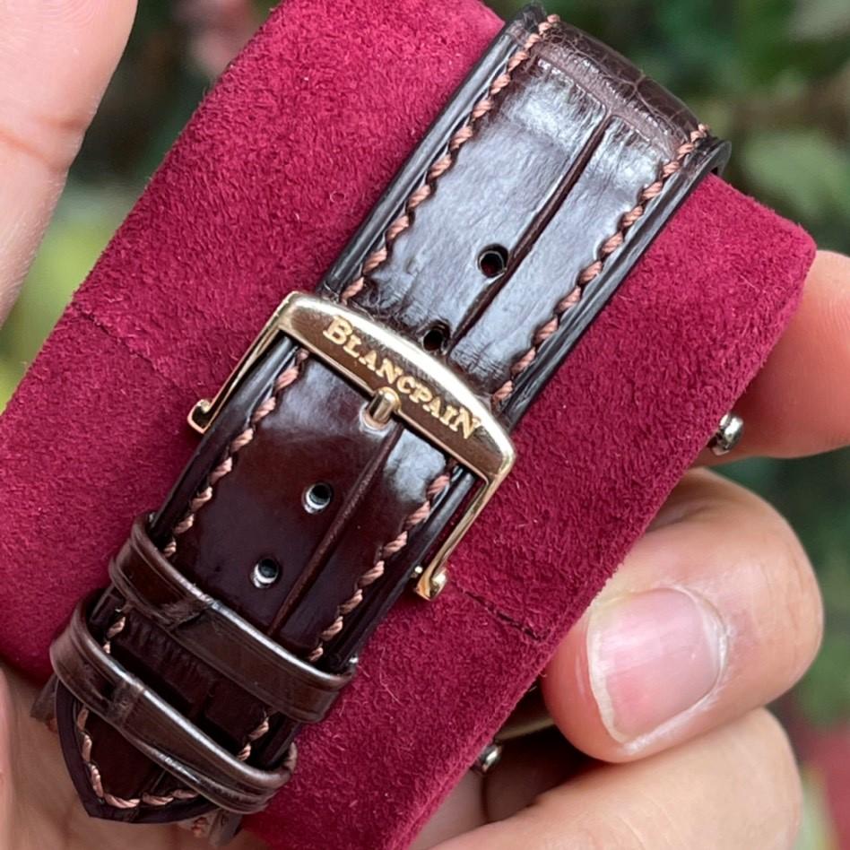 Đồng hồ Blancpain Villeret 4063-3642 Ultra Slim Rose Gold 18k Size 40mm