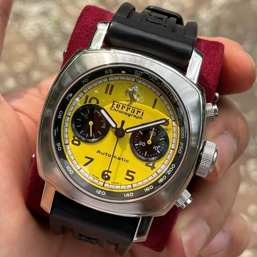 Đồng hồ Panerai Ferrari FER00011 Limited Edition Mặt vàng Chronograph