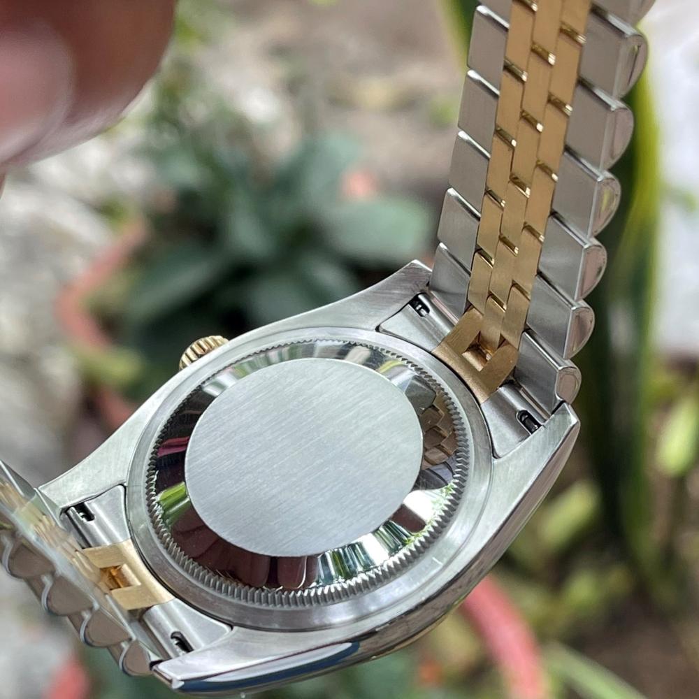 Rolex Datejust 116233 Champagne Dial Demi vàng 18k Size 36mm