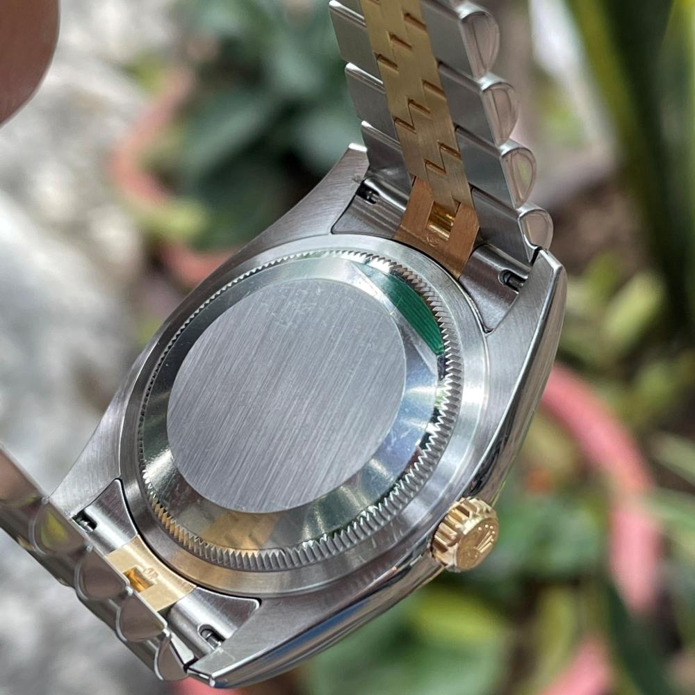 Rolex Datejust 116233 Mặt tia khói Demi vàng 18k Size 36mm