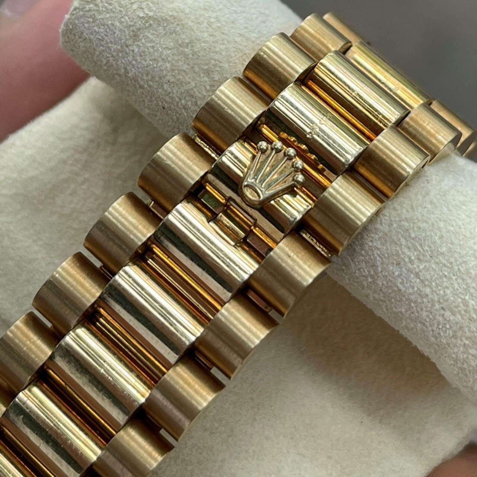 Rolex Day-Date 118388 Mặt số Diamond Vàng khối 18k Size 36mm