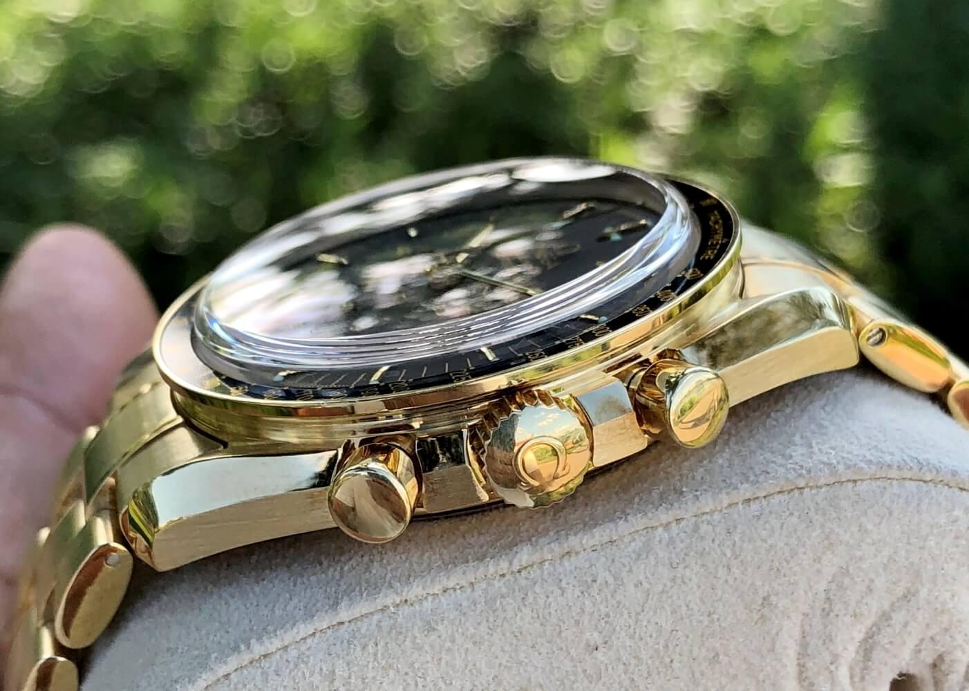 Đồng hồ Omega Speedmaster Moonwatch 3195.50.00 Vàng 18k nguyên khối