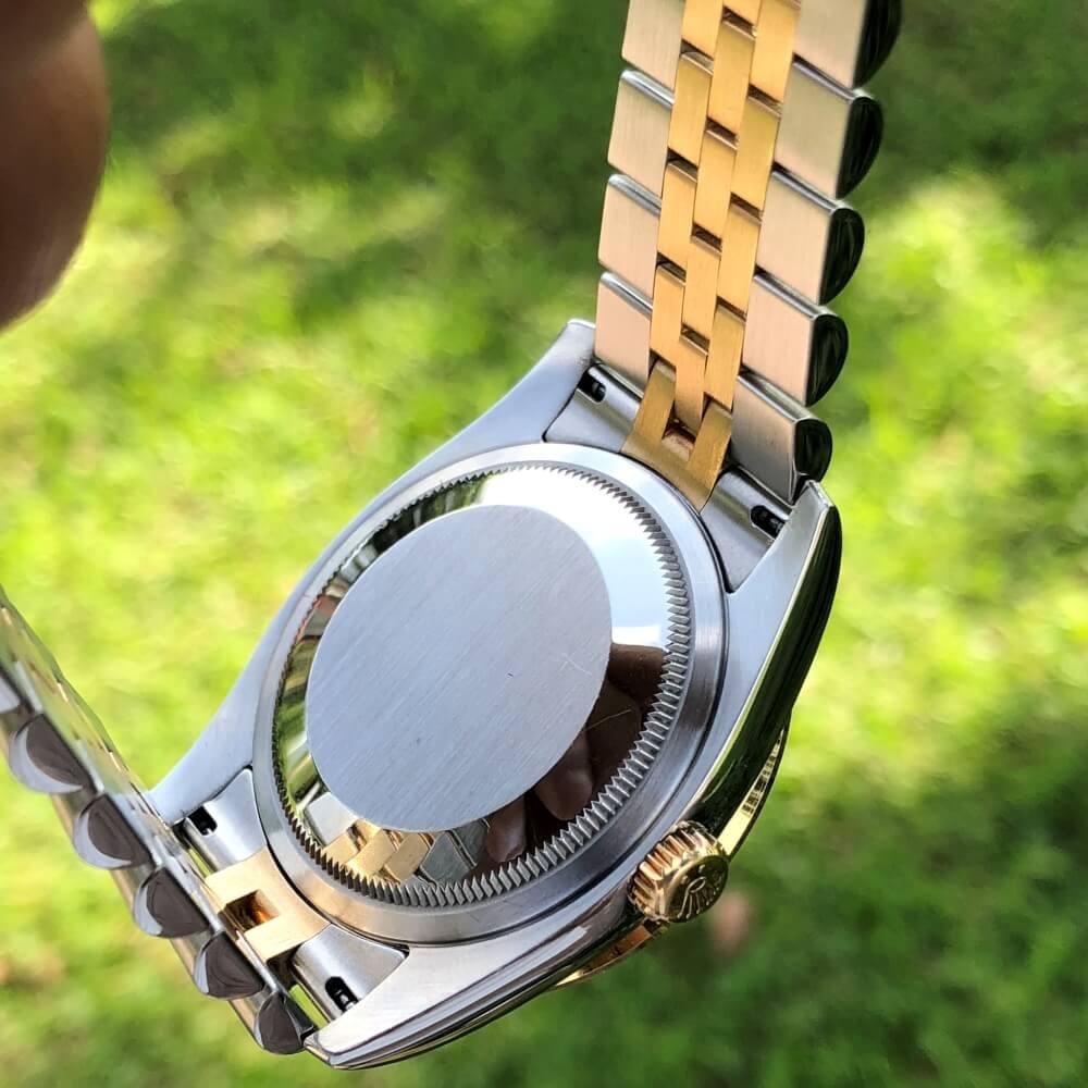 Đồng hồ Rolex Datejust 116233 Mặt Champagne Demi vàng 18k Size 36mm