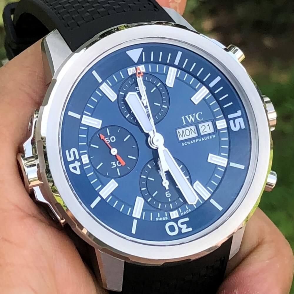 IWC Aquatimer Chronograph IW376805 Size 44mm Fullbox 2020